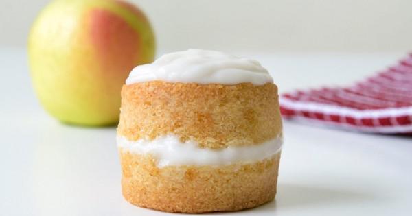 Mini Vegan Apple Cake