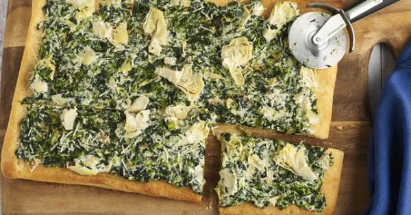 Spinach Dip Flatbread