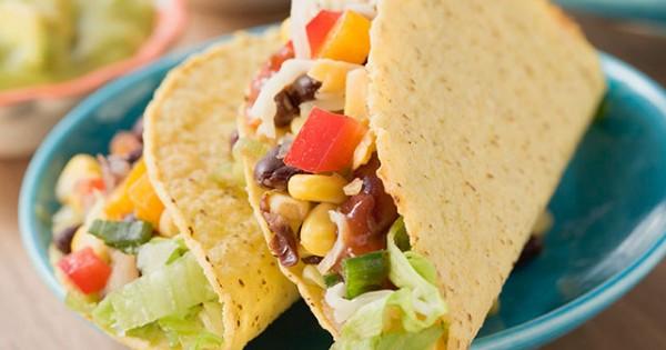 Crispy Vegetarian Tacos