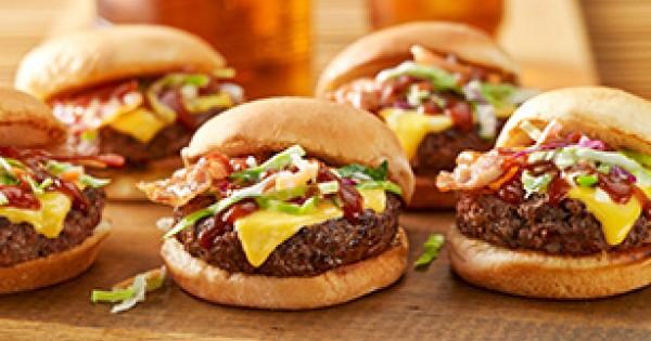 Mini Southern-Style BBQ Burgers