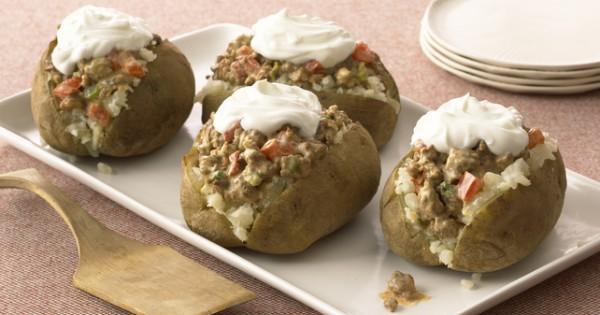 Super Stuffed Potatoes
