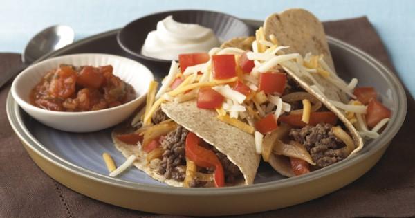 BBQ Beef Soft Tacos