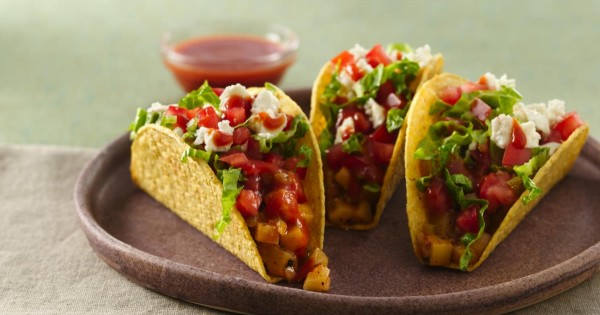 Mexican Potato Tacos