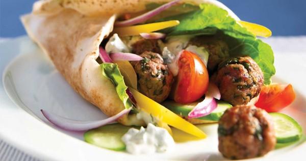 Greek Lamb Sandwiches (Gyros)