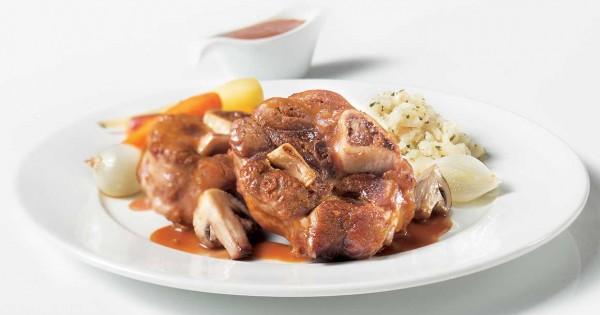 Pork Osso Buco Bourguignon