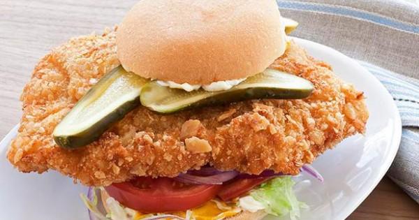 Hoosier Pork-Tenderloin Sandwich