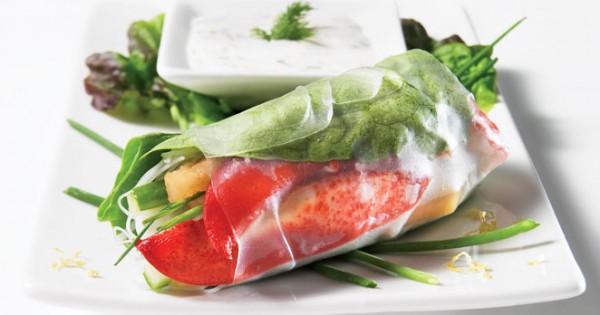 Lobster Spring Rolls