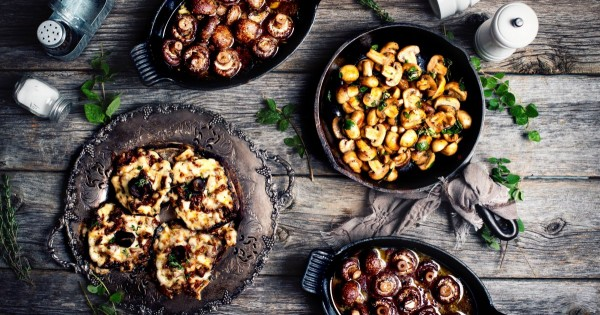 Three ways to cook mushrooms
