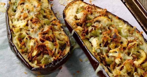 Stuffed Eggplant Italiano