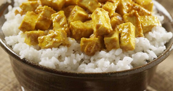 Tofu curry with coconut