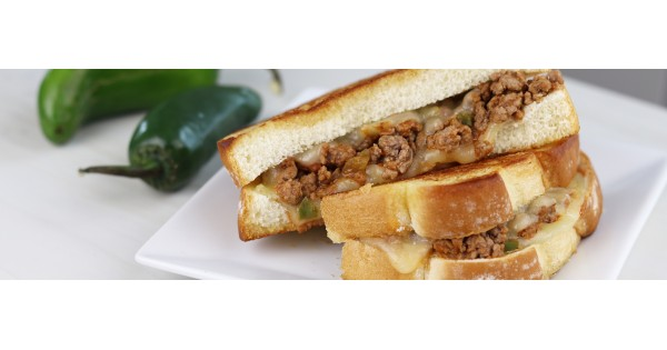 Spicy Sloppy Joe Grilled Cheese