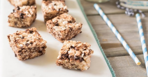 Squares Recipe with Chocolate Chips