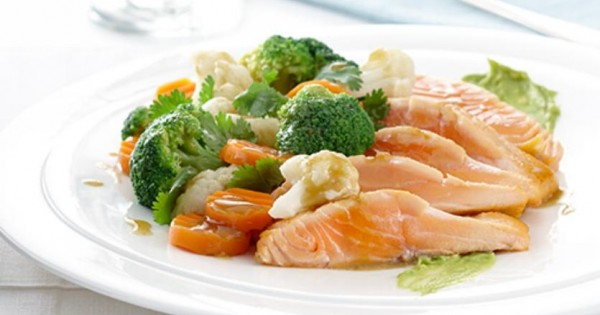 California Style Salmon Stir Fry