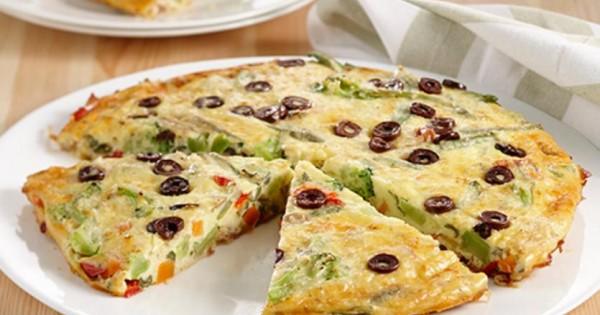 Vegetable & Prosciutto Frittata