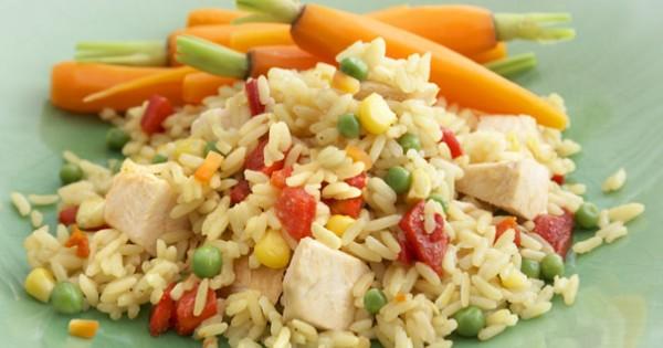 Garden Vegetable Chicken & Rice