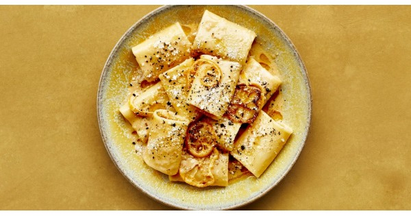 Pasta With Brown Butter, Whole Lemon, and Parmesan
