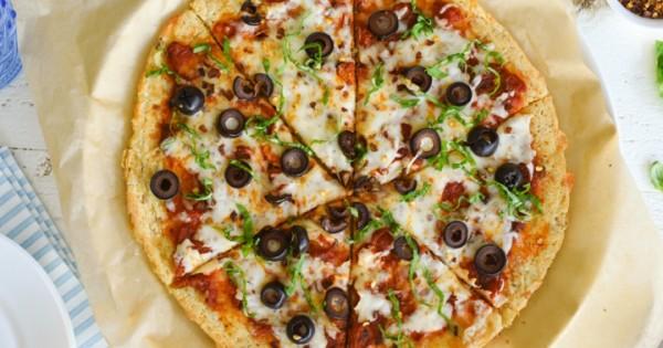 Pizza With Tuna Crust