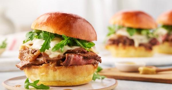 Saucy Steak Sandwiches