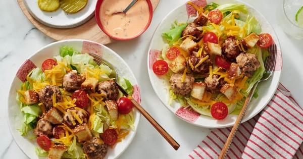 Cheeseburger Salad Supreme