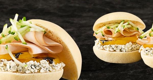 Chicken and Basil Boursin Sandwich