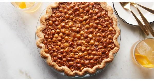 Black-Bottom Hazelnut Pie | Epicurious