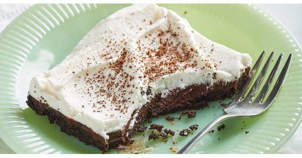 Chocolate Cream Pie Squares Recipes