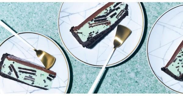 Chocolate Grasshopper Ice Cream Tart Recipe