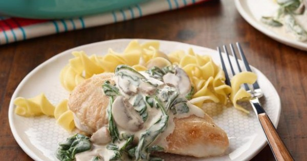 Creamy Skillet Chicken