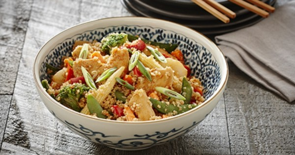 Quinoa with Chicken and Vegetables