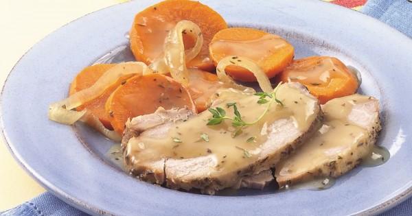 Slow-Cooker Winter Pork Roast Dinner