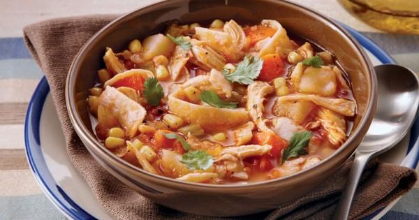 Slow-Cooker Spicy Chicken Stew