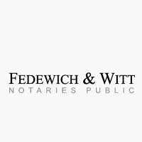 Visit Fedewich & Witt Notaries Public Online